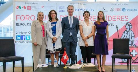 SWISS RE y ZURICH se unen para impulsar la diversidad de género en el Seguro mexicano