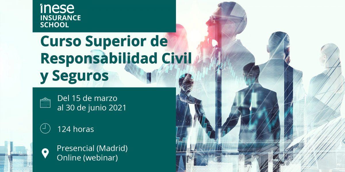 II Edición. Curso Superior de Responsabilidad Civil y Seguros
