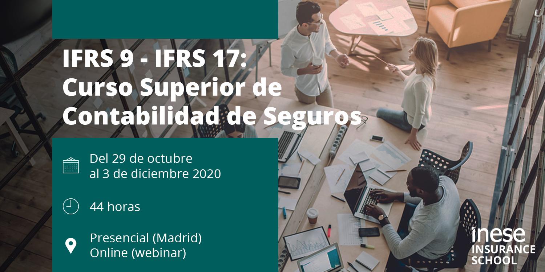 Curso Superior de Contabilidad de Seguros (PGCA, IFRS 9, IFRS 17)