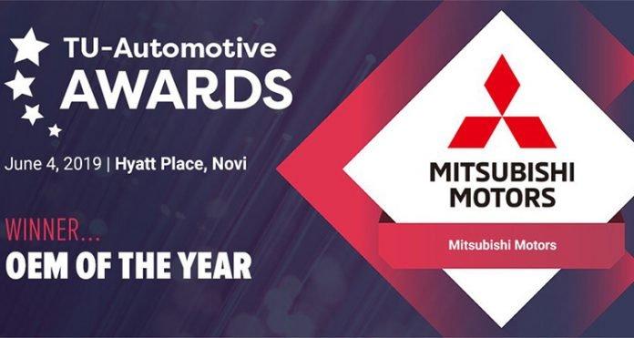 Mitsubishi, elegido fabricante del año en la TU-Automotive de Detroit por su aplicación de asistencia en viaje Road Assist+