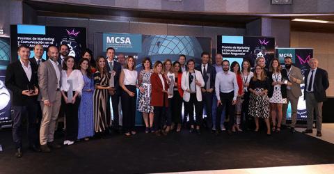 AON, REALE, INTERMUNDIAL, SANTALUCÍA y PELAYO, ganadores de los Premios de Marketing y Comunicación