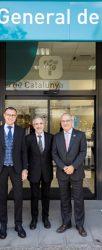 Caja de Ingenieros inaugura una oficina en la sede de MGC MUTUA en Granollers