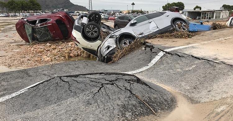 Casi 1 millón de personas podrían verse afectadas por inundaciones en las costas españolas