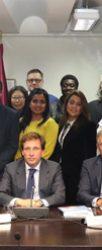 Miembros del RACE son recibidos por el alcalde de Madrid como pate de la CIFAL Global Network