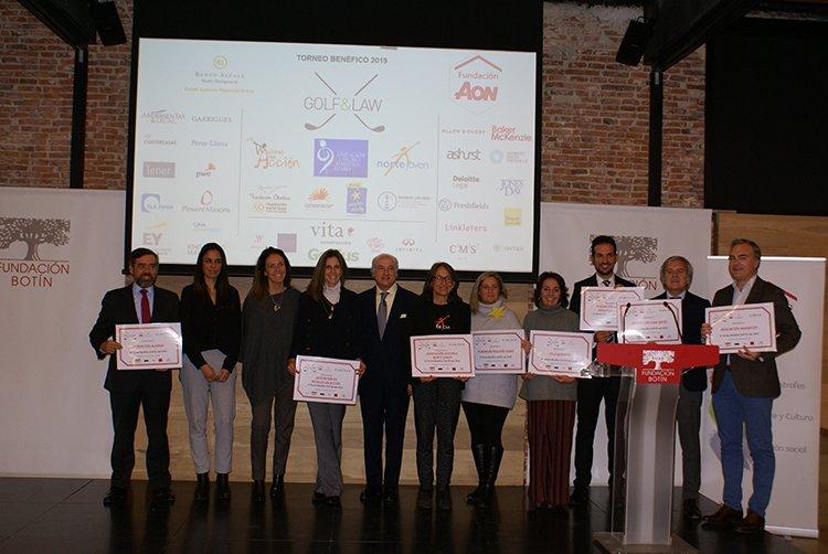 Fundación Aon España, patrocinador del Torneo Benéfico Golf & Law