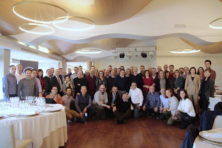 Los asociados de ACS-CV se reúnen en el tradicional encuentro de Navidad