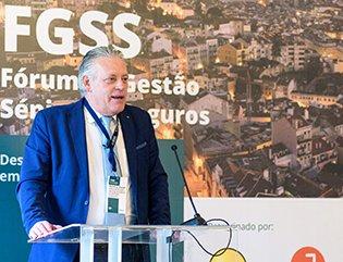 David Pereira en el Foro de Lisboa