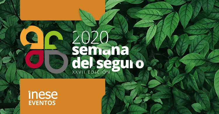 La Semana del Seguro 2020 abre su registro de inscripción online