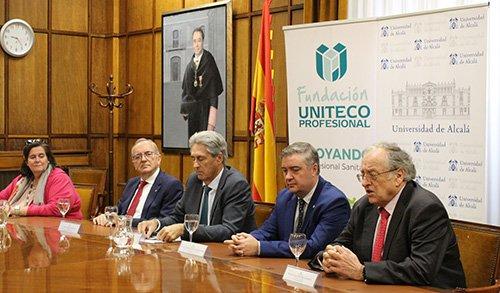 Fundación Uniteco renueva su Cátedra de Salud, Derecho, Seguro y Responsabilidad Civil con la Universidad de Alcalá