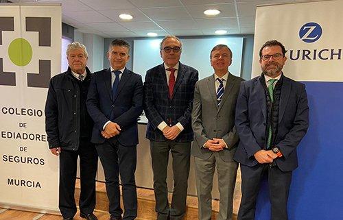 El Colegio de Mediadores de Murcia firma su colaboración con Zurich