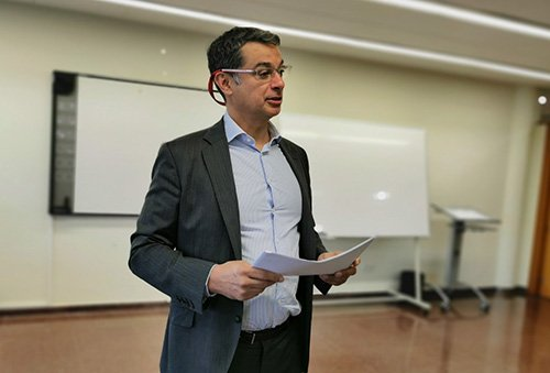 La Cátedra Fundación Inade-UDC imparte un 'Business Game' en gerencia de riesgos