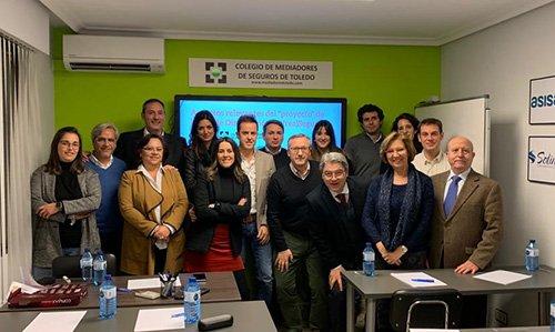 El Colegio de Mediadores de Toledo, con la colaboración de Liberty, celebra el taller 'Transposición Directiva IDD'