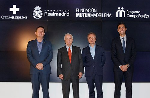 Fundación Mutua Madrileña y Fundación Real Madrid apoyarán a los hijos de víctimas de violencia de género