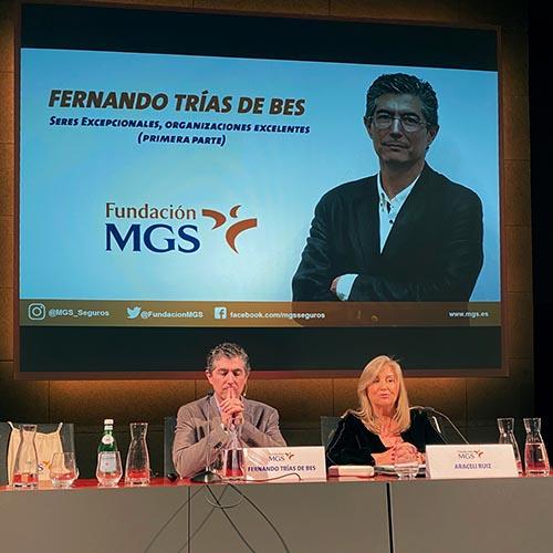 Fundación MGS inicia su ciclo de jornadas formativas 2020 con Fernando Trías de Bes