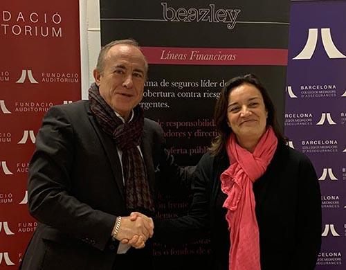 Acuerdo entre Beazley y Fundació Auditorium del Colegio de Mediadores de Barcelona.