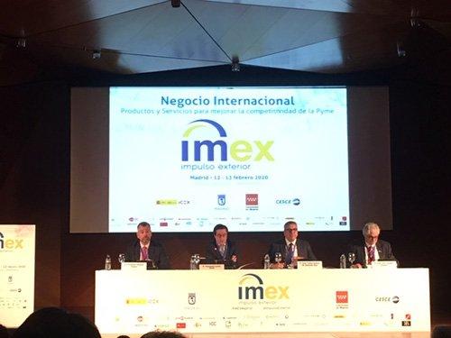 Cesce participa en la mesa 'Planes de ayuda para la internacionalización empresarial' en IMEX Madrid 2020