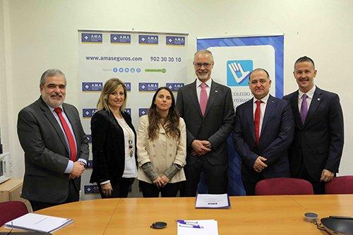 AMA seguros y el Colegio Oficial de Fisioterapeutas de Murcia