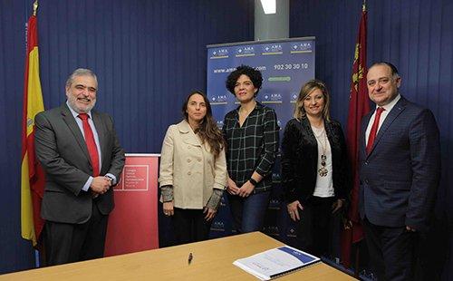 AMA Vida firma la póliza colectiva de Vida con el Colegio de Ópticos-Optometristas de Murcia