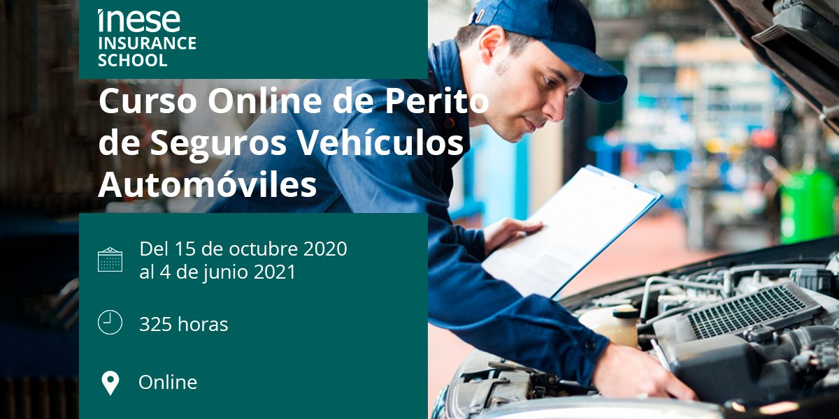 Curso Online de Perito de Seguros Vehículos Automóviles
