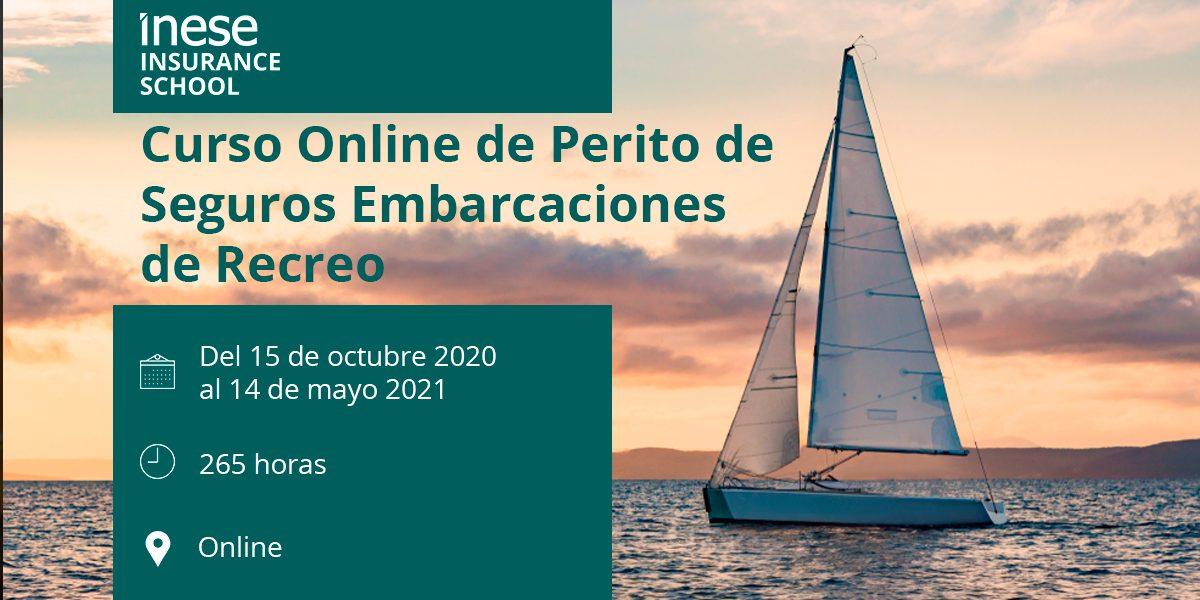Curso Online de Perito de Seguros Embarcaciones de Recreo