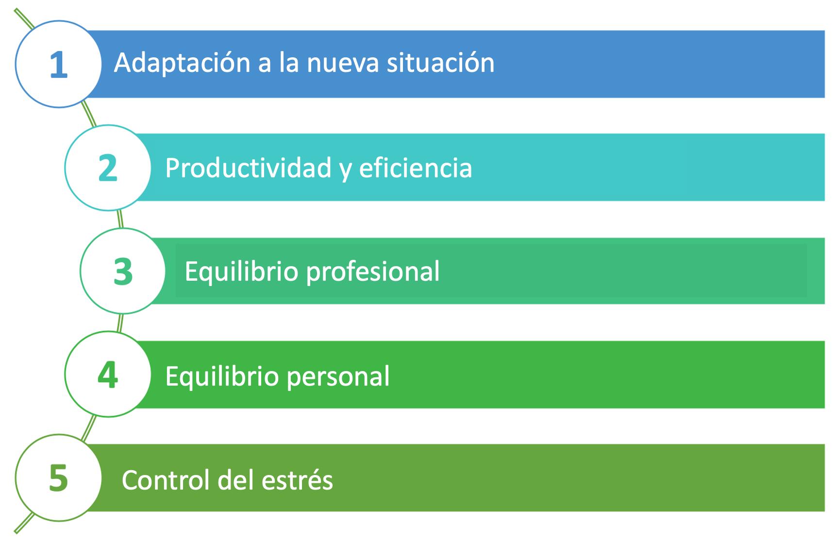e-produtividad objetivos