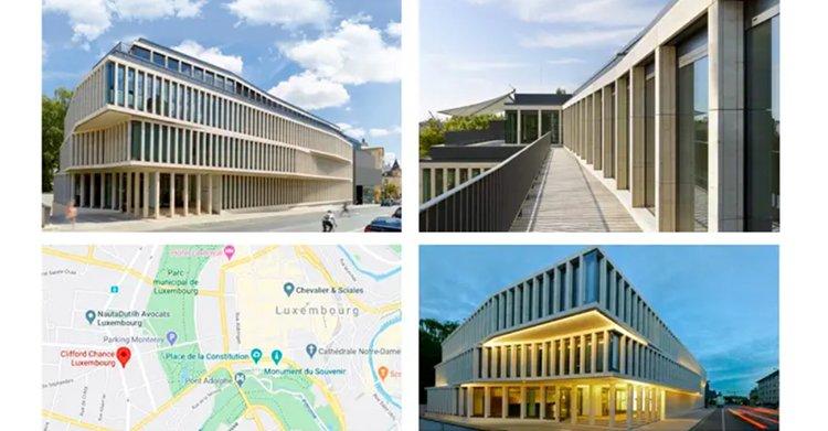 MAPFRE - collage edificio Luxembugo