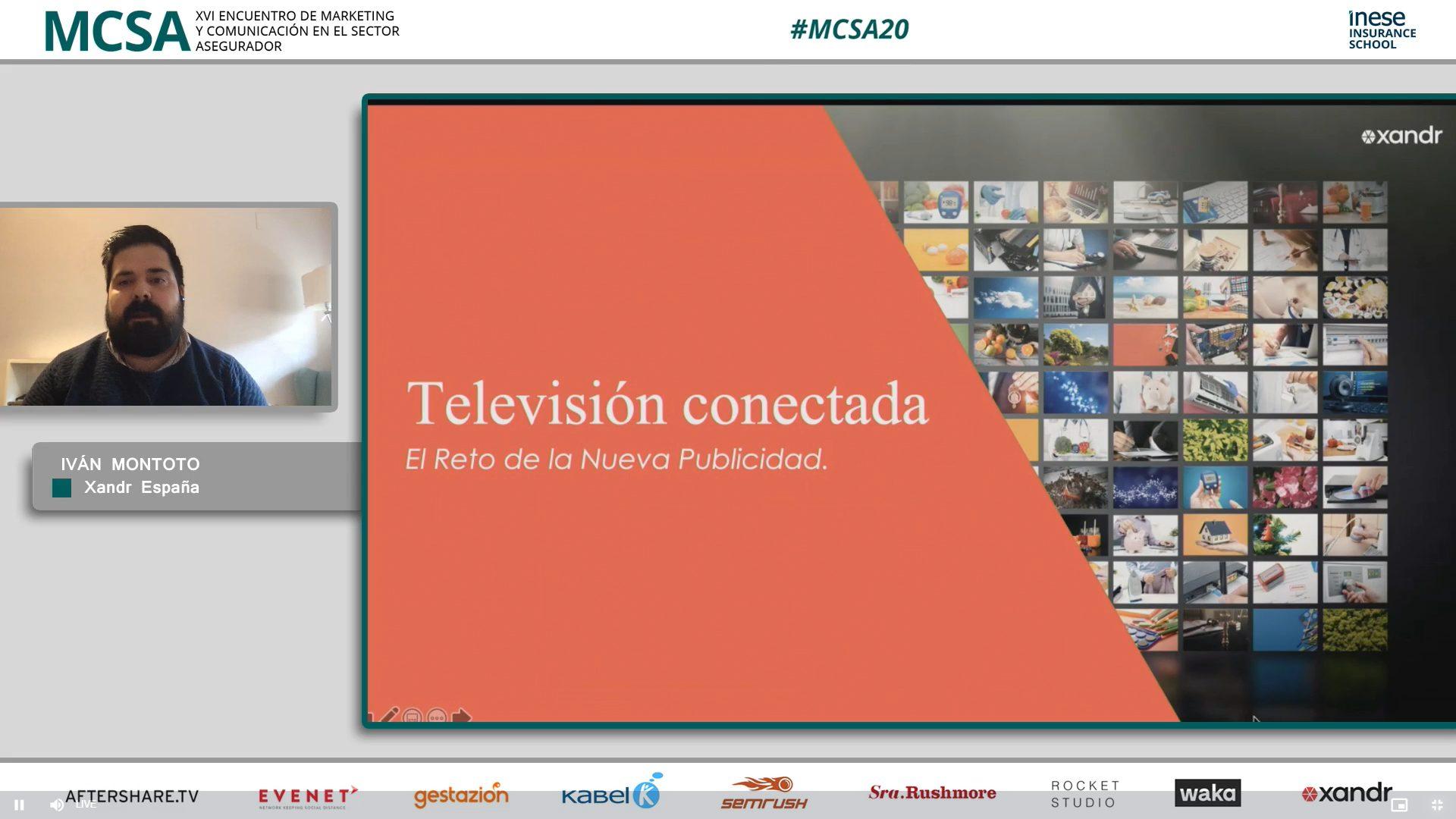 Iván Montoto en el #MCSA20