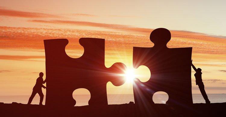 concepto de colaboración