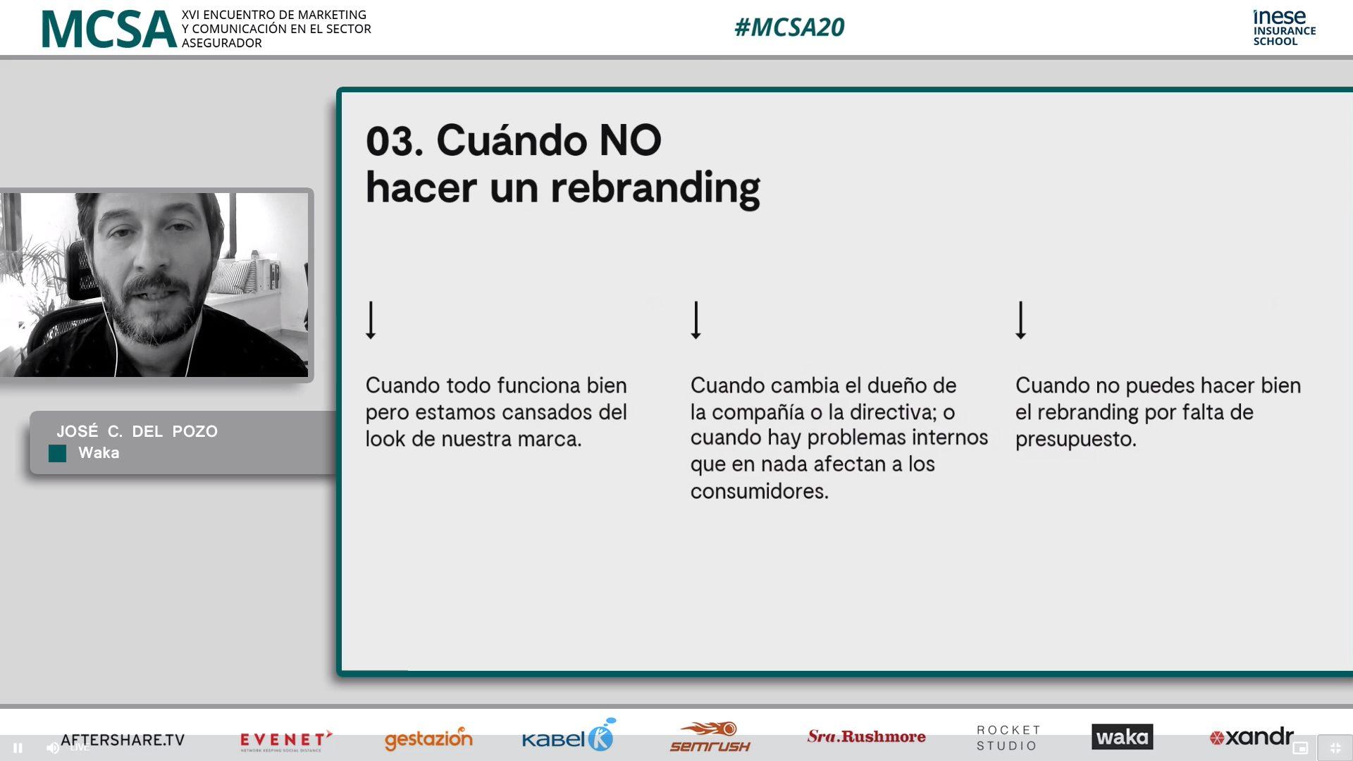 José Carlos de Pozo en el #MCSA20