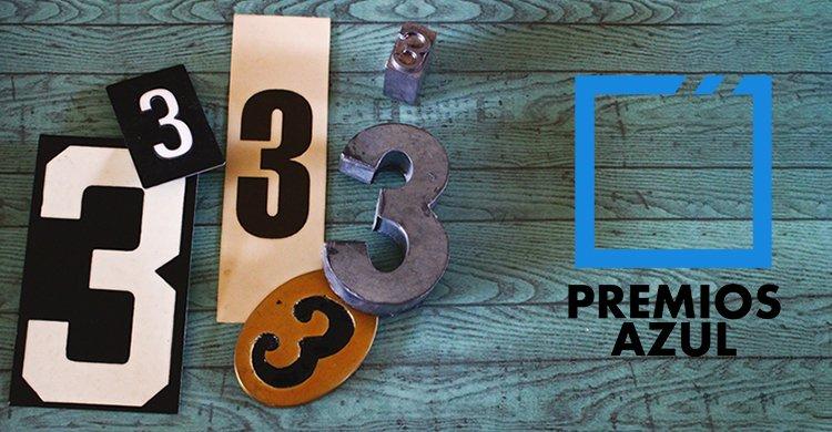 3 Premios Azul