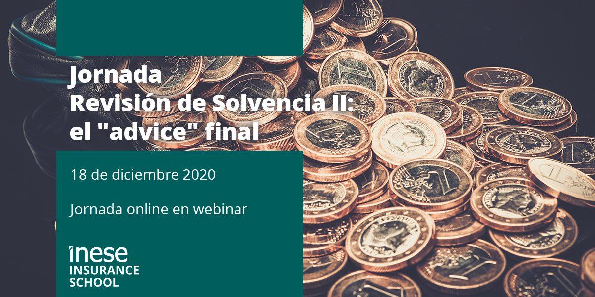 """Revisión de Solvencia II: el """"advice"""" final"""