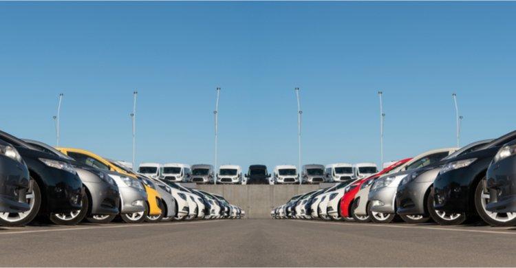 parque de vehículos