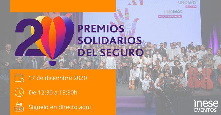 Premios Solidarios del Seguro 20 aniversario