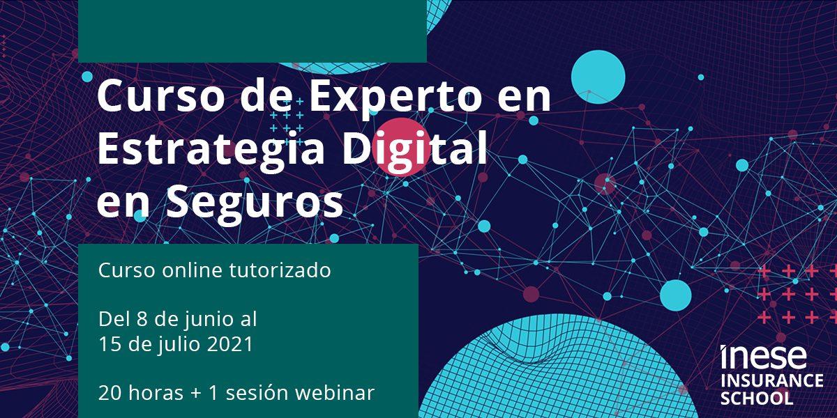 Curso online de experto en estrategia digital en seguro