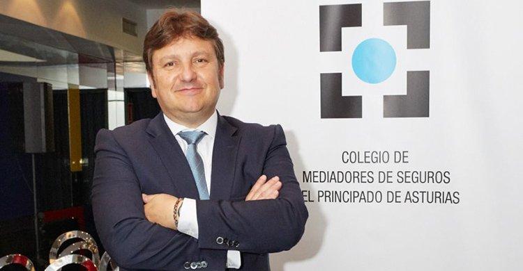 Reinerio Sarasúa Presidente del Colegio de Mediadores de Seguros de Asturias