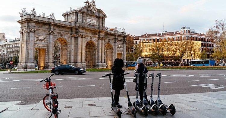 Movilidad en pandemia Madrid