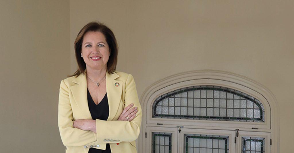 Brunch con Elena Sanz Isla, directora general de personas y organización de MAPFRE