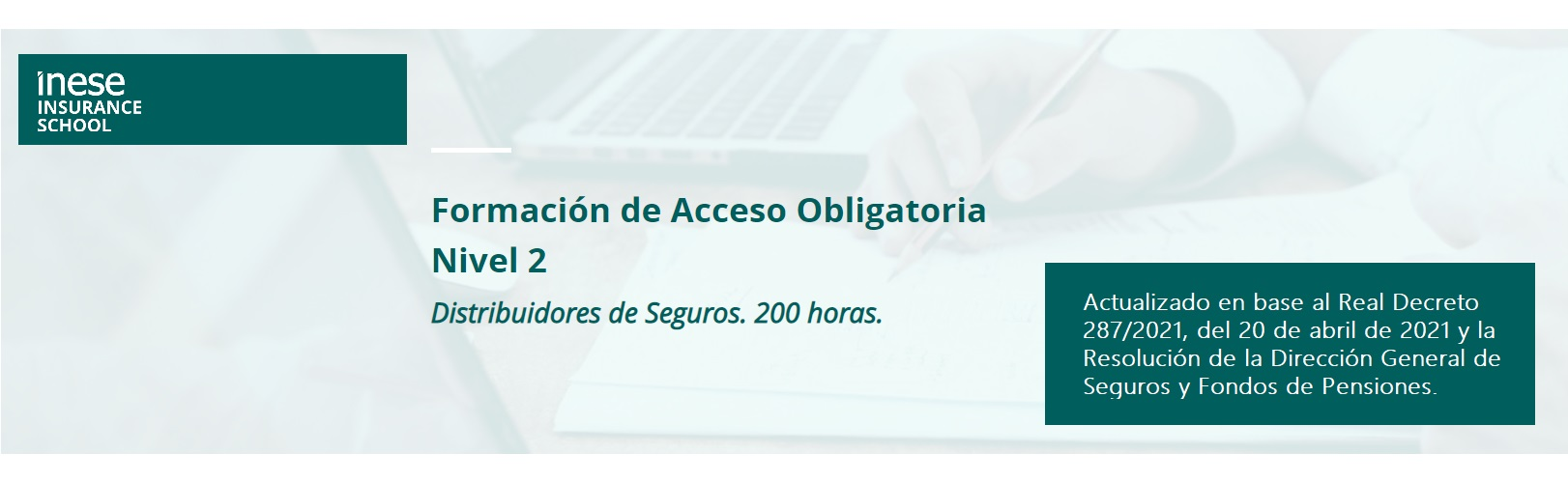Formación de acceso obligatoria