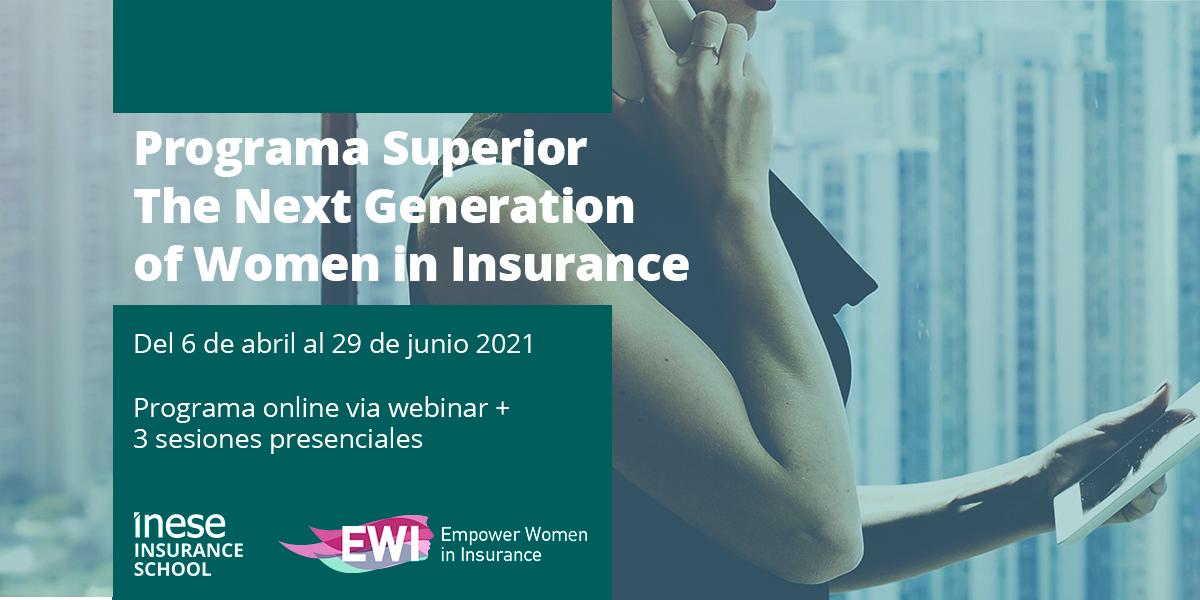 II Edición. Programa Superior The Next Generation of Women in Insurance