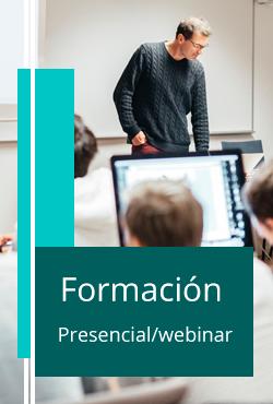 Formación Presencia, webinar, blended