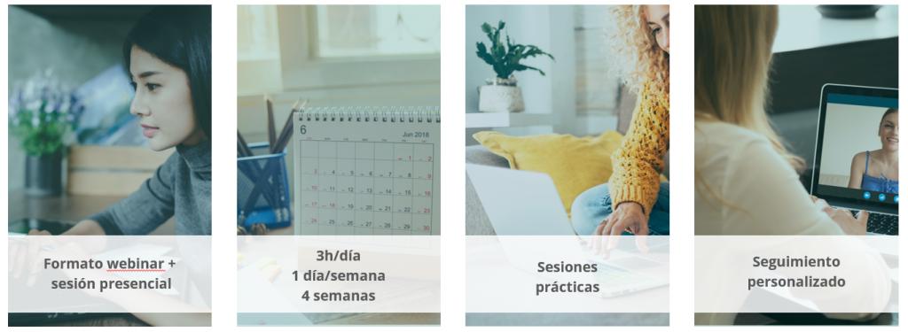 Metología del Curso New Mentoring: The Good Mentor