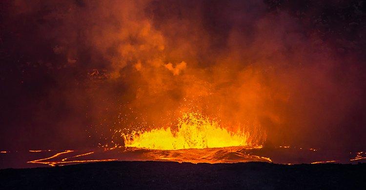 volcán - imagen de recurso